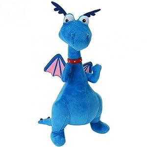 Docteur la peluche toufy le dragon bleu peluche doc mcstuffins 30cm jeux et jouets - Toufy docteur la peluche ...