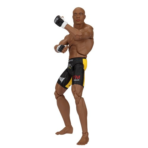 Picture of Jakks Pacific UFC Deluxe Figure Series #1 anderson Silva (B002A7WD10) (Jakks Pacific Action Figures)