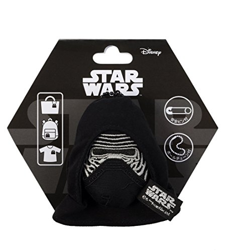 Japan Disney Official Star Wars the Force Awakens - Kylo Ren Head Mascot Clip Pin Badge Limited Soft Plush Stuffed Toys Cushion Doll Plushie Botton Ball Chain Takara Tomy Arts