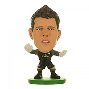 Arsenal F.C. SoccerStarz Szczesny- Wojciech Szczesny- SoccerStarz figure- 2 inches tall- with collectors card- in blister pack- official licensed product