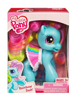 My Little Pony > Rainbow Dash with Skirt Doll