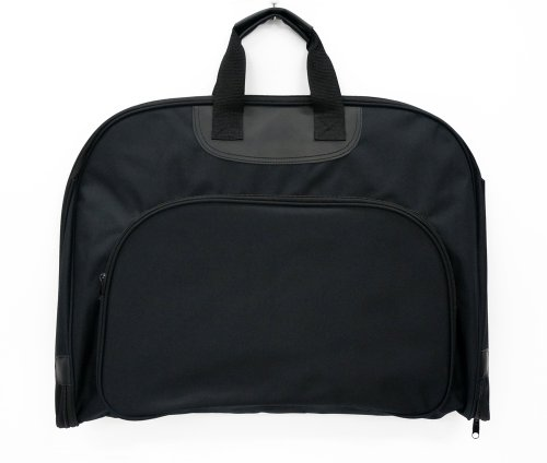 Garment bag men and women cum for ceremonial business-hanger with gift storage staff (black)