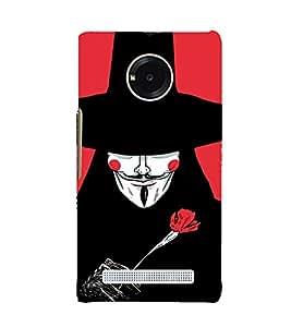 EPICCASE V for Mobile Back Case Cover For YU Yuphoria (Designer Case)