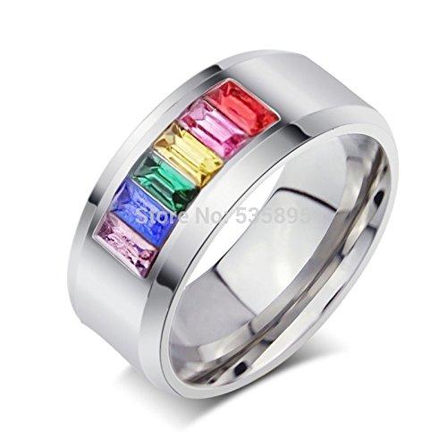 inexpensive pride wedding rings or engagement rings