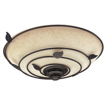 Hunter Exhaust Fan with light 82020 Organic Bathroom Fans Brittany Bronze CFM = 70, Sones = 2.5