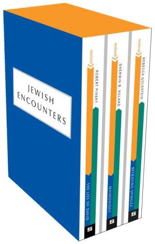 Jewish Encounters 3-Copy Boxed Set: Betraying Spinoza, Maimonides, and The Life of David