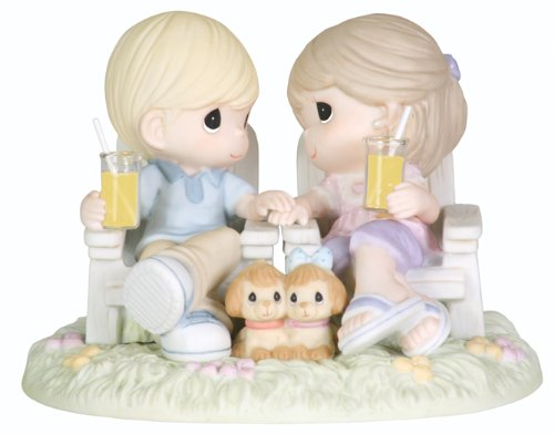 "Precious Moments ""Always Be By My Side"" Figurine"