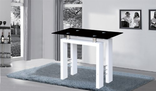 Metro Console Table High Gloss white