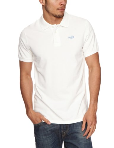 Rampant Sporting Guys Polo Men's T-Shirt White Medium