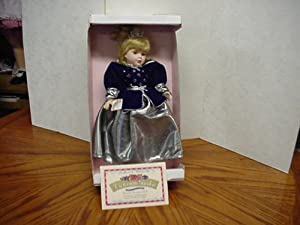 Genuine Porcelain Doll: Victorian Garden Collection - Ice Princess