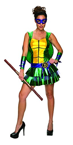 ... Secret Wishes Womenu0027s Teenage Mutant Ninja Turtles Donatello  sc 1 st  80s Fashion Clothing & 80s Costumes for Women at 80sfashion.clothing