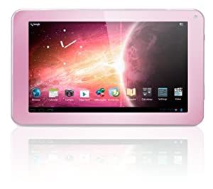 Yarvik Luna 7 inch Tablet (Pink) - (Single Core A9 1GHz Processor, 512MB DDR3 RAM, 4GB HDD, Touch Screen, Android 4.1.1 JellyBean )