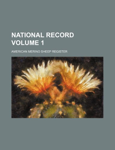 National record Volume 1