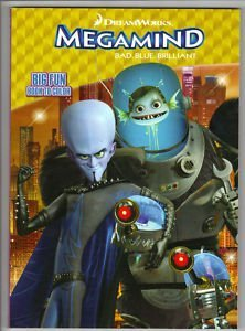 Megamind Bad.Blue.Brilliant Big Fun Book to Color- Superhero Showdown~ 96 Pages