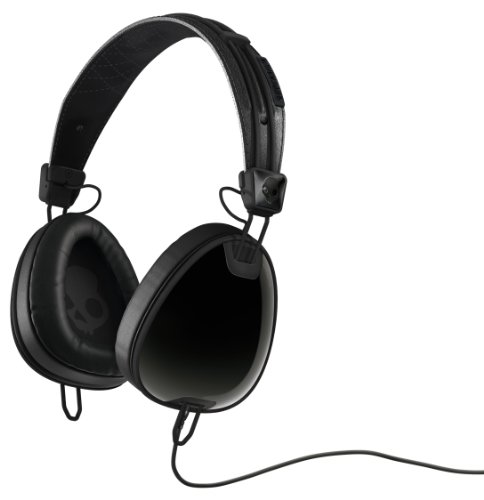 Skullcandy Aviator 2.0 Over-Ear Headphones with Mic - Black/Black Black Friday & Cyber Monday 2014