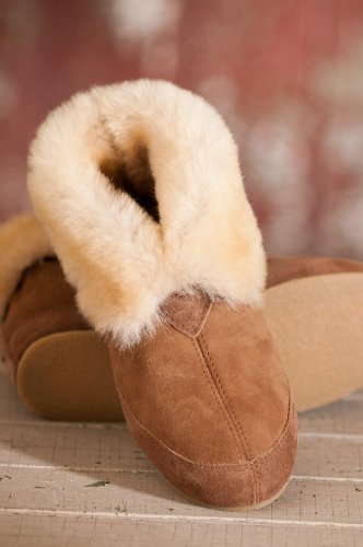 Cheap Women's Fireside Sheepskin Slippers (B00A4TI9FU)
