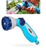 Acquista Tubo da giardino in plastica morbida a spruzzo pistola a ugello - 8 modalità di + regolazione del flusso
