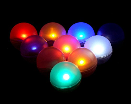 Lily'S Home Fairy Led Lights, Magical Led Light, Wedding Centerpiece Lights, Party Lights. Pack Of 10 (Color Changing)