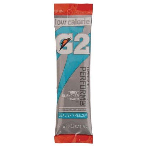 Gatorade G2 02 Powder Sticks (8-0.52Oz Packets Per Canister) 1 Canister (Glacial Freeze)