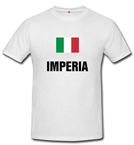 T-shirt IMPERIA - Comuni Italiani bianco