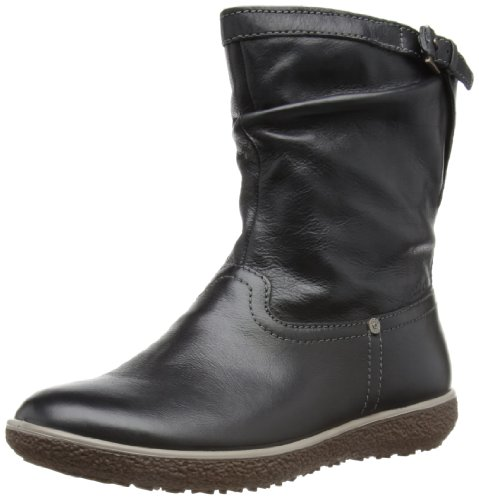 ECCO Shoes Womens Ecco Aude Slouch Boot Slouch Boots 24174301001 Black 8  UK e509471d7