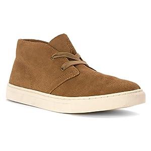 Polo Ralph Lauren Joplin Suede Chukka Sneaker Dark Tan 10.5 D