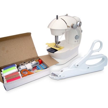 Michley Mini Sewing Machine & Accessories 3-Piece Value Bundle (Viking Sewing Machines For Sale compare prices)