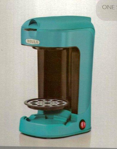 Bella Single Scoop Coffee Maker - Turquoise