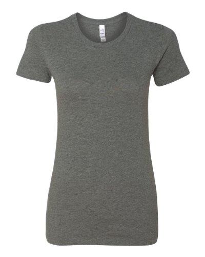 Bella 6004 Ladies Favorite T-Shirt - Deep Heather - Xl front-901024