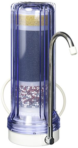 APEX Countertop Drinking Water Filter - Alkaline (Clear) (Countertop Filter compare prices)