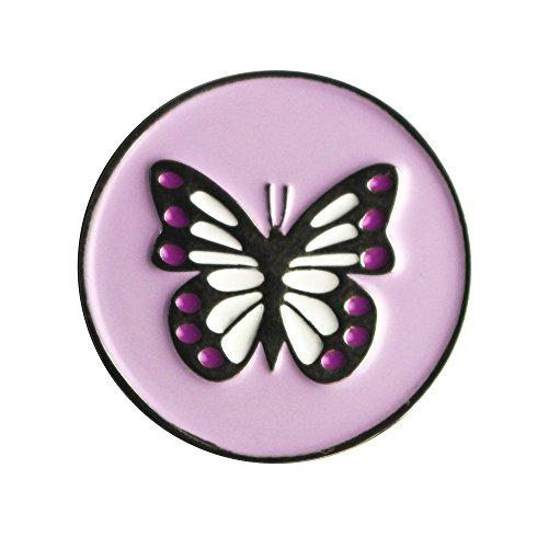 Un set di 10pennarelli pallina da golf, Design unico, in Speciali, Butterfly ball marker