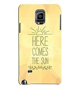 MENTAL MIND DESIGNER HARD SHELL BACK COVER CASE FOR Samsung Galaxy NOTE 4