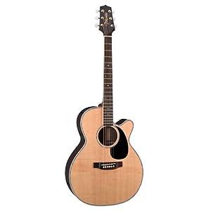 Takamine G Series EG460SC NEX Acoustic Electric Guitar, Natural