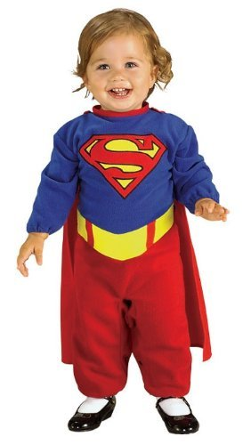 Infant Romper Supergirl Costume