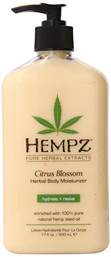 Hempz Citrus Blossom Herbal Body Moisturizer, 17 Ounce