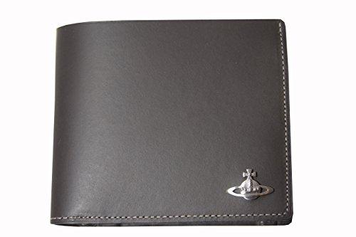 Vivienne Westwood ヴィヴィアンウエストウッド 2ツ折財布 COIN グレー 新品正規品【並行輸入品】