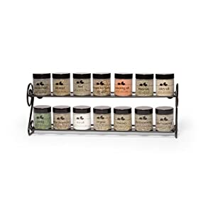 Kamenstein 14 Jar Scroll Wire Spice Rack by Kamenstein