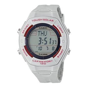 Casio Women's LWS200H-8ACF Solar Runners 120-Lap Digital Sport Watch