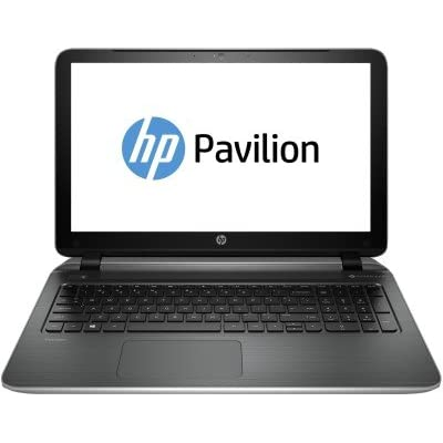 HP Pavilion 15-P242TU 15.6-inch Laptop (Core i3-5010/4GB/500GB/Win 8.1), Natural Silver