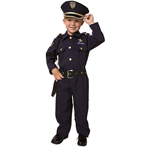 Little Boys' Deluxe Police Officer Costume 2T