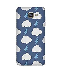 Blue Cloud Thunder Samsung Galaxy A5 2016 Edition Case
