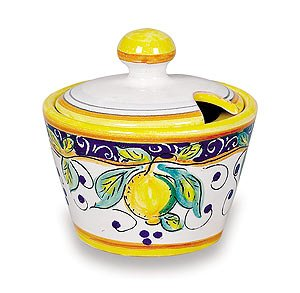 Handmade Alcantara Sugar Bowl From Italy - Buy Handmade Alcantara Sugar Bowl From Italy - Purchase Handmade Alcantara Sugar Bowl From Italy (Umbria Alcantara, Home & Garden, Categories, Kitchen & Dining, Tableware)