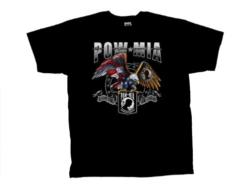 Pow Mia T-Shirt Eagle All Gave Some Some Gave All-Xxl
