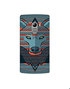 Lenovo A7010 Stylized-wolf-01 Mobile Case (Limited Time Offers,Please Check the Details Below)