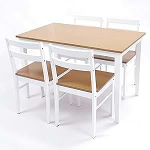 UNE BONNE(ウネボネ) ダイニングセット ダイニングテーブル5点セット シンプル