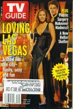 TV Guide May 16 2004 Las Vegas, The Batchelor pocket rough guide las vegas
