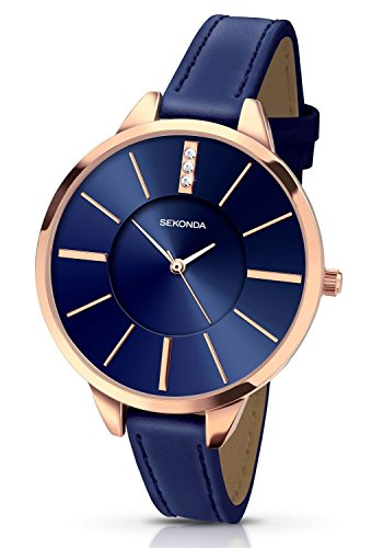 Sekonda Women's Quartz Watch  Blue Dial Analogue
