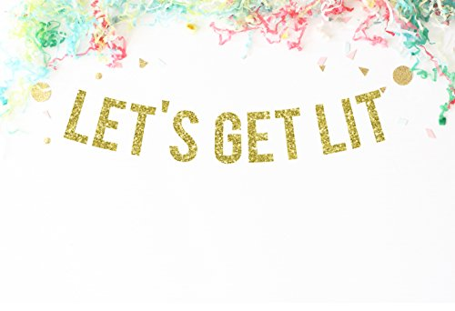 lets-get-lit-gold-glitter-party-banner-funny-birthday-banner-birthday-decorations-funny-banner-bache