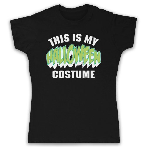 My Icon Women's This Is My Costume Halloween T-Shirt