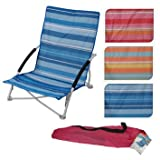 Light Weight Folding Beach Chair With Carry case (Orange)